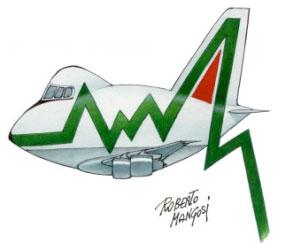 Se fallisce Alitalia