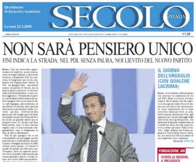 """""""Il Secolo d'Italia"""" e le mie cittadinanze"""