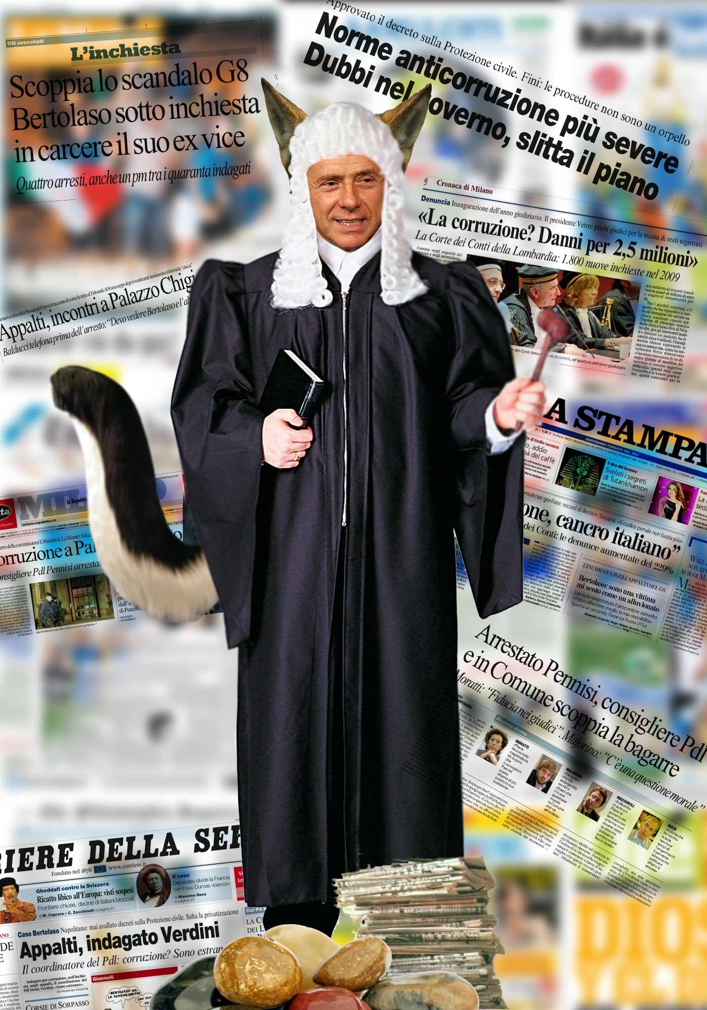 """L'Infedele: Berlusconi e i """"birbantelli"""""""