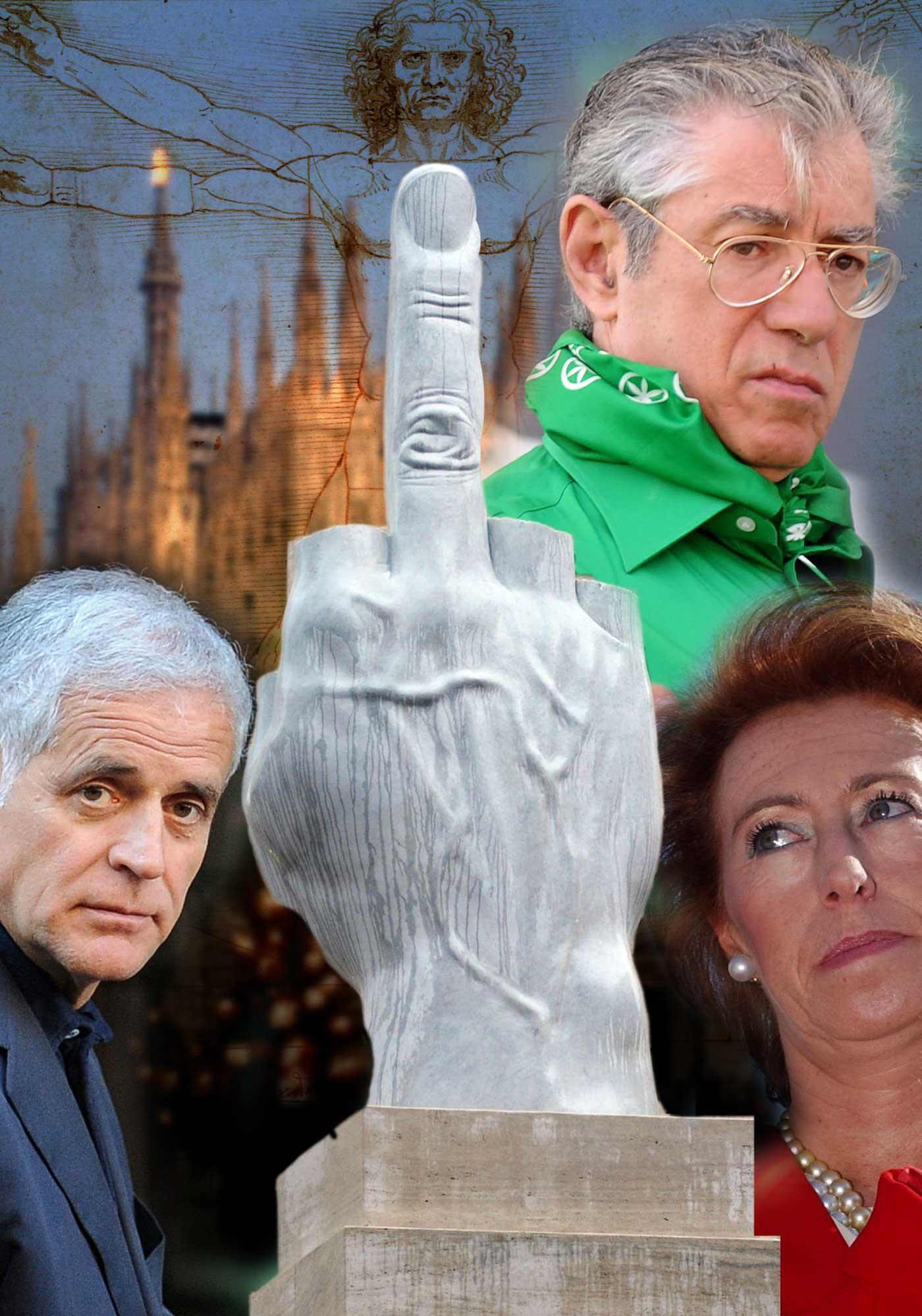 L'Infedele: chi è più ladrona, Roma o Milano?