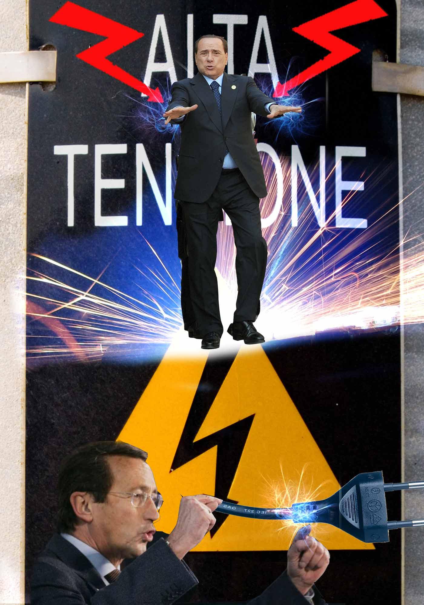 L'Infedele e la fine del governo Berlusconi