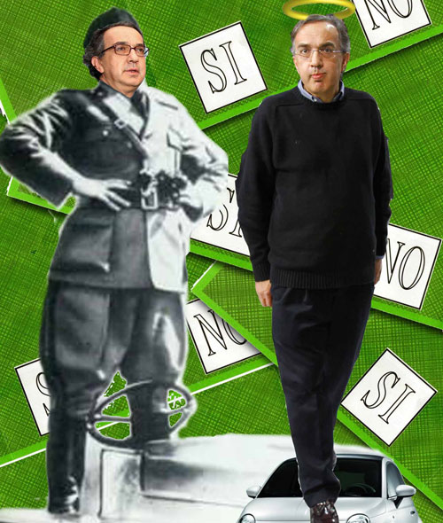 L'Infedele e l'ultimatum di Marchionne