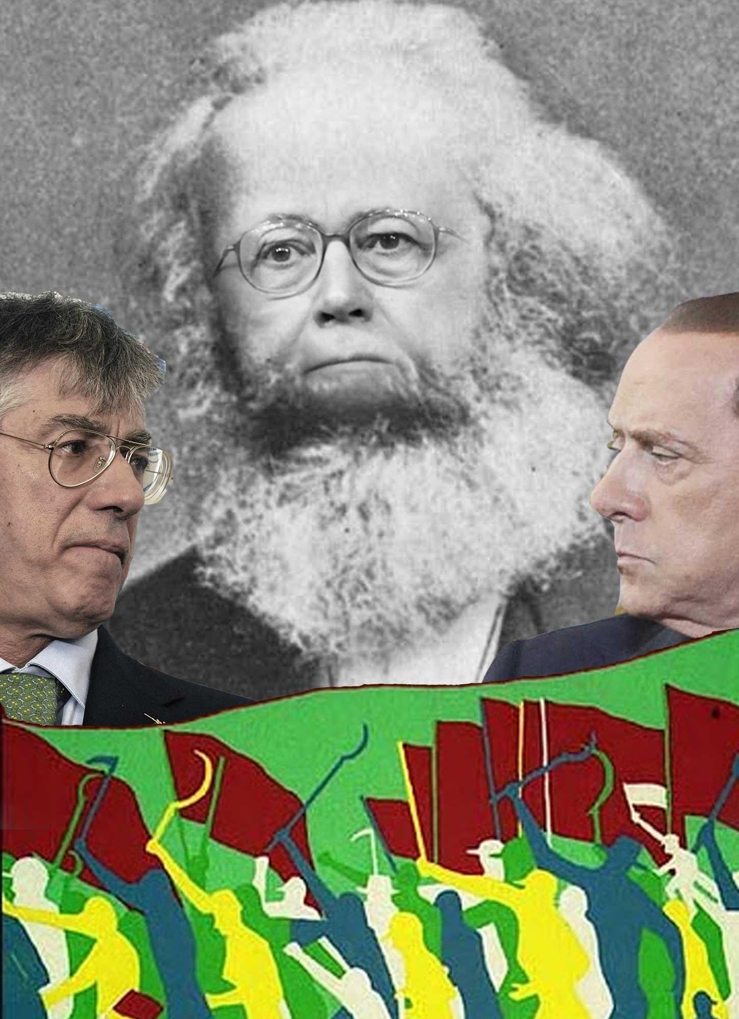 L'Infedele: tasse e lavoro, lo sciopero Cgil