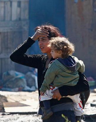 Per i Rom un ghetto al centro dell'Europa