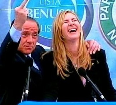"Silvio e le elezioni presidenziali ""bunga bunga"""