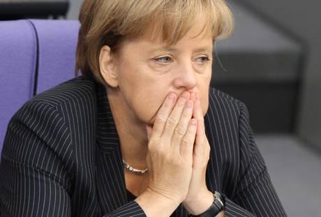 La brutta domenica di Angela Merkel