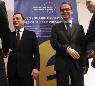 La guerra di Weidmann a Mario Draghi
