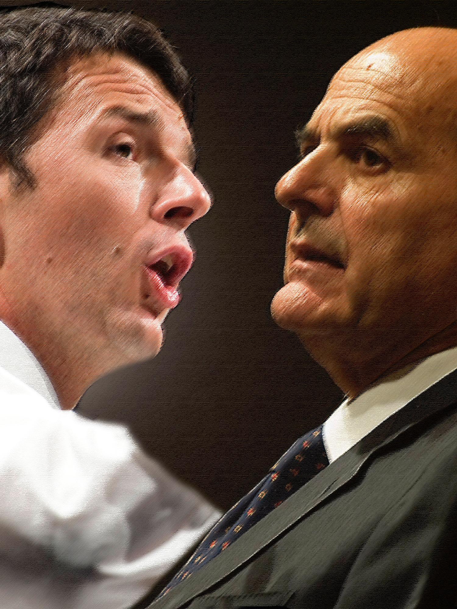 L'Infedele: Bersani-Renzi e l'ombra di Monti, il gioco si fa duro