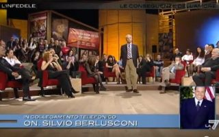 Le migliori puntate de L'Infedele: quando Berlusconi chiamò in trasmissione