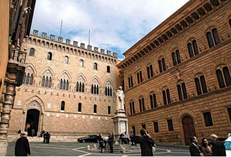 A Siena un coacervo di poteri ingolositi dalla finanza speculativa