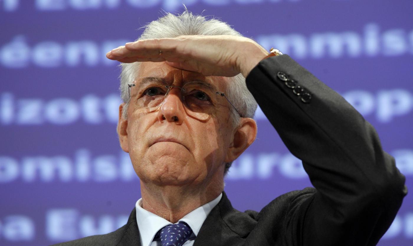 L'ex Presidente del Consiglio nonché senatore a vita Mario Monti (www.gadlerner.it)