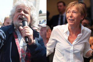 Lo scontro in rete tra Beppe Grillo e Milena Gabanelli