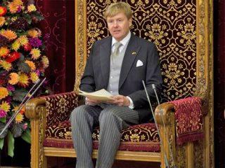 Il re d'Olanda dice addio allo Stato sociale