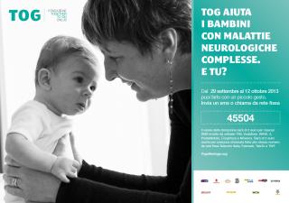 Tog, l'associazione che aiuta i bambini con malattie neurologiche complesse