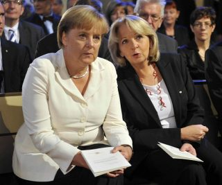 La Merkel e la Kraft, le due donne leader della Germania delle grandi intese