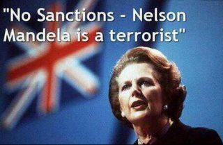 """Per non dimenticare: Thatcher e Reagan contro il """"terrorista"""" Mandela"""