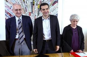 Nei primi sondaggi la lista Tsipras va bene