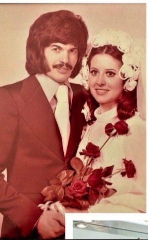 La foto del matrimonio di Antonio Razzi