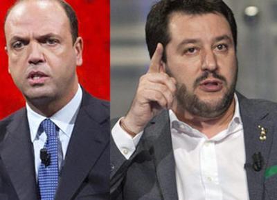 Berlusconi-Alfano-Salvini: è la destra italiana che ci meritiamo