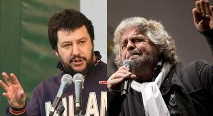 Grillo insegue Salvini nella corsa a chi è più becero