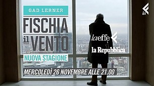 Mercoledì 26 novembre ricomincia il viaggio di Fischia il Vento
