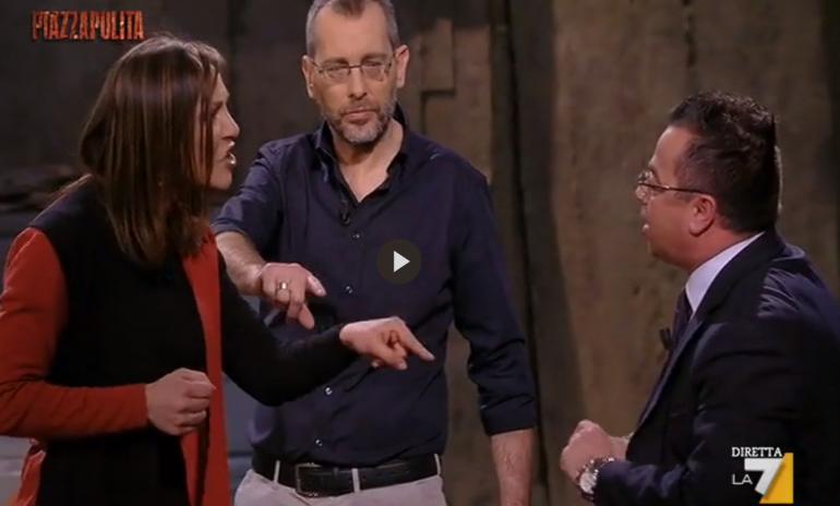 La tv intossicata che crede di guarire con i Buonanno ha un antidoto: o noi o loro