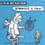 Charlie Hebdo attacca il Front National angelico skinhead che non fa più paura