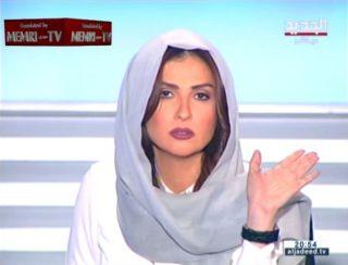 La splendida giornalista libanese che zittisce l'islamista irrispettoso in diretta TV