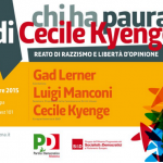 La propaganda razzista è un reato. Manifestazione a Modena con Kyenge e Manconi