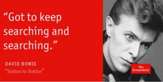 Il bel ricordo di David Bowie dell'Economist
