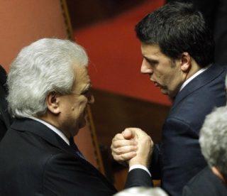 Esulta Verdini che oggi entra ufficialmente nella maggioranza del governo Renzi