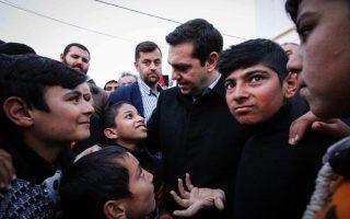 Alexis Tsipras: sui migranti arrivati in Grecia si decide il destino dell'Europa