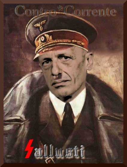 La disgustosa promozione di Sallusti-Hitler: non è trovata elettorale bensì concorrenza da destra al Libero di Feltri