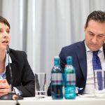 L'internazionale della destra nazionalista di Strache, Salvini e Le Pen si allarga alla Germania