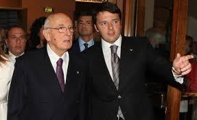 Napolitano a Renzi: sei il segretario del PD, hai il dovere di fare una proposta per cambiare l'Italicum