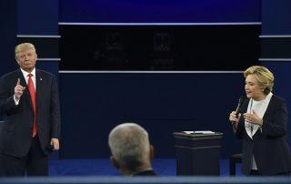 Hillary Clinton vince il secondo dibattito per i sondaggi. Trump ha minacciato di mandarla in prigione